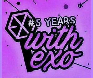 exo, exo-l, and 5yearswithexo image
