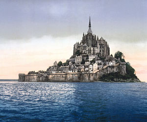 francia and moint saint michel image