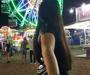 baby, ferriswheel, and love image