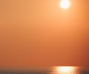 sunset, nature, and orange image