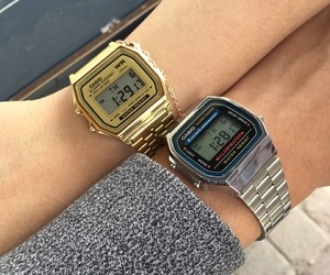 casio, couple, and goal image