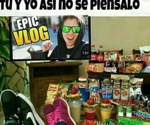 funny, gracioso, and youtubers image