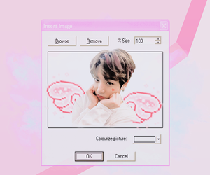 exo, wallpaper, and pink image