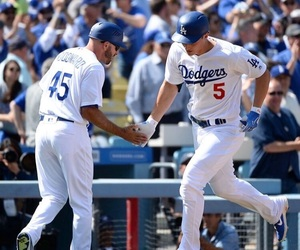 baseball, los angeles dodgers, and dodgers image