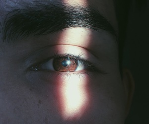 boy, eyes, and love image