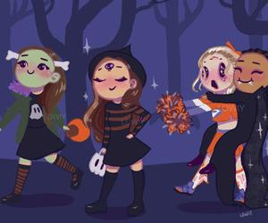 fan art, Halloween, and jesy nelson image