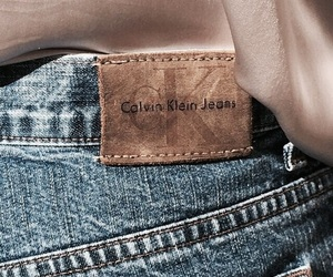 brand, jeans, and calvinklein image