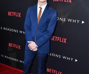 clay jensen, 13 reasons why, and dylan minnette image