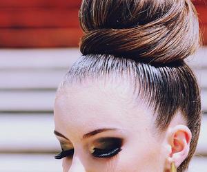 hair, hairstyle, and make up image