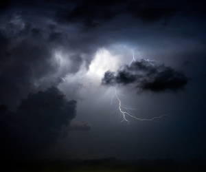 sky, dark, and storm image