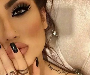 makeup, instagram, and perfect image