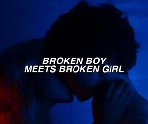 boy, broken, and quotes image
