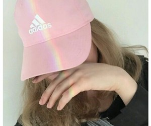 adidas, pink, and girl image
