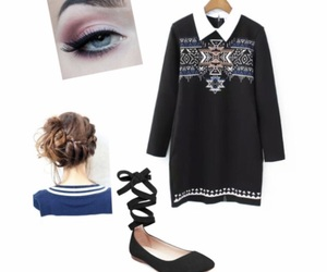 school, outfit idea, and cute image