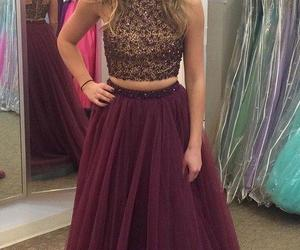 prom dresses for teens and burgundy prom dresses image