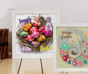 easter decor, easter egg print, and printable easter image