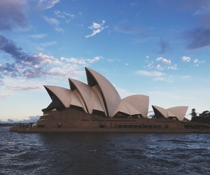 australia, holiday, and opera house image