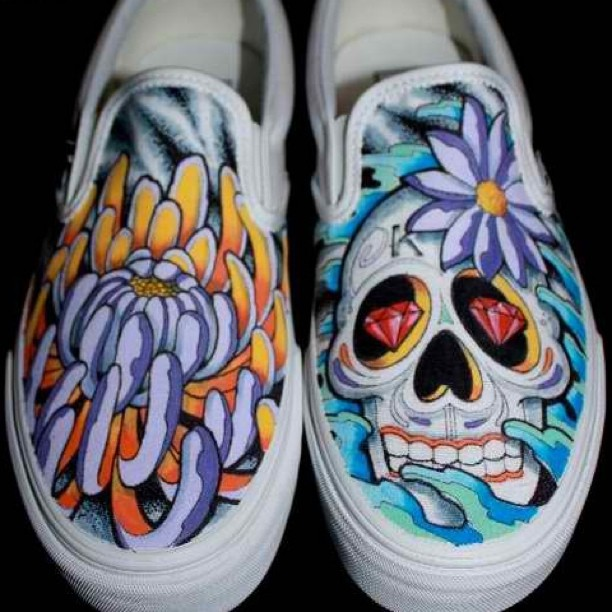 vans shoes drawing. drawing tattoo design sharpie art shoes illustration cool fresh swag vans vansshoes slipons custom pens marker paint feet new skull sugarcandyskull water a