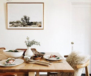 art, decoration, and dining image