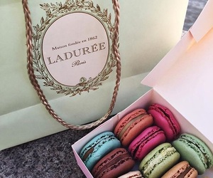 delicious, macarons, and yummy image