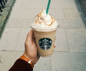 coffee, delicious, and frappuccino image