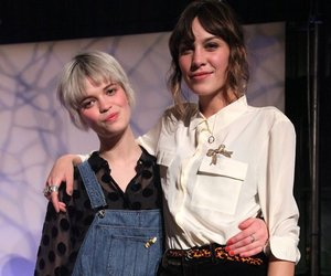 alexa chung, belt, and overalls image