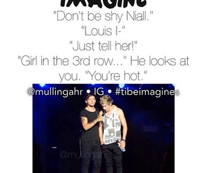one direction, imagine, and niall horan image