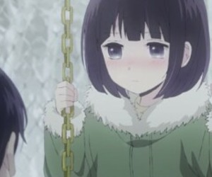anime, winter, and narumi image