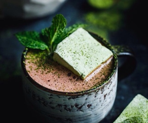 mint and hot chocolate image