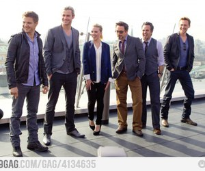 funny and the avengers image