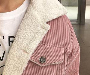 pink, fashion, and jacket image