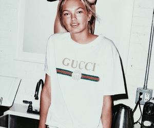 model, girl, and gucci image
