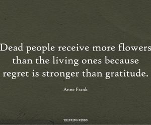 anne frank, grief, and life image
