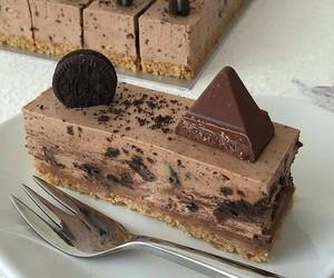 food, cake, and chocolate image