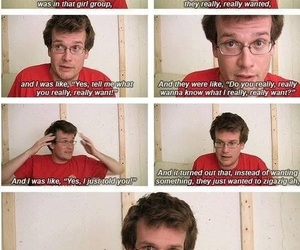 author, funny, and john green image