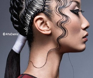 ponytail with twists image