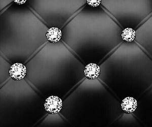 background, black, and diamonds image