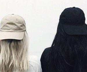 hair, black, and tumblr image