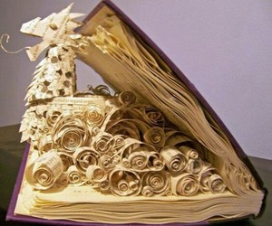 amazing, pages, and book image