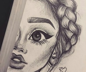 art, drow, and resim image