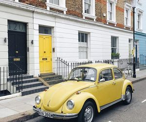 beetle, london, and Notting Hill image