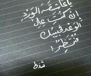 كﻻم, ﻋﺮﺑﻲ, and عاشقة الورد image