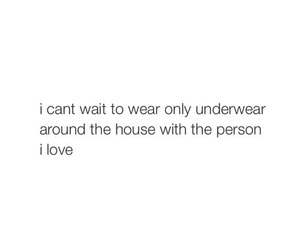 quote, underwear, and love image