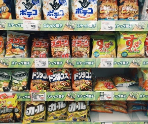 asia, snacks, and eat image