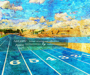 art prints, track and field, and wall decor image