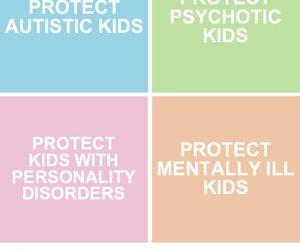 autism, bipolar, and mental illness image