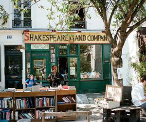 book, paris, and vintage image