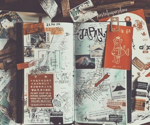 journal, diy, and photo image
