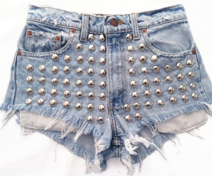 cutoff, distressed jeans, and studded shorts image