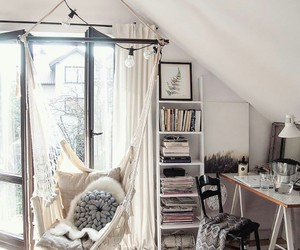 comfortable, home, and room image